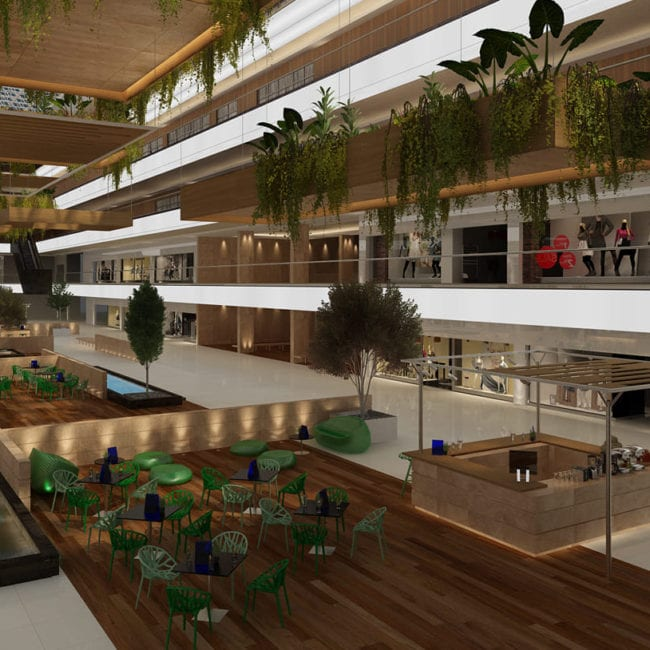 Interior design & fit-out for Doha Souq mall