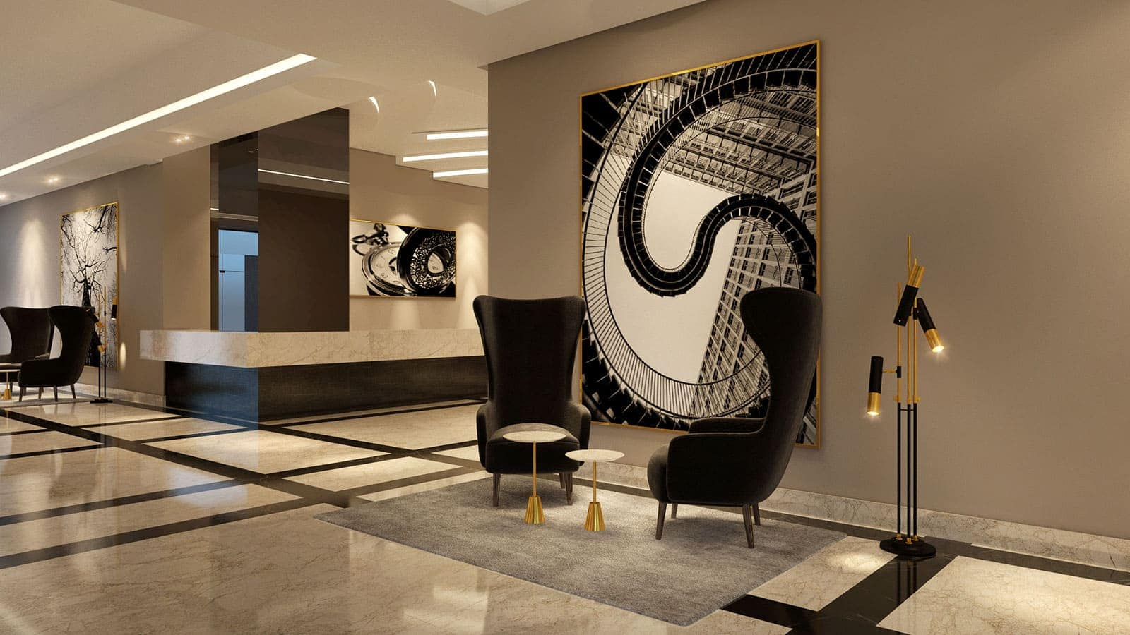 Interior design & fit-out for Lusail furnished apartments
