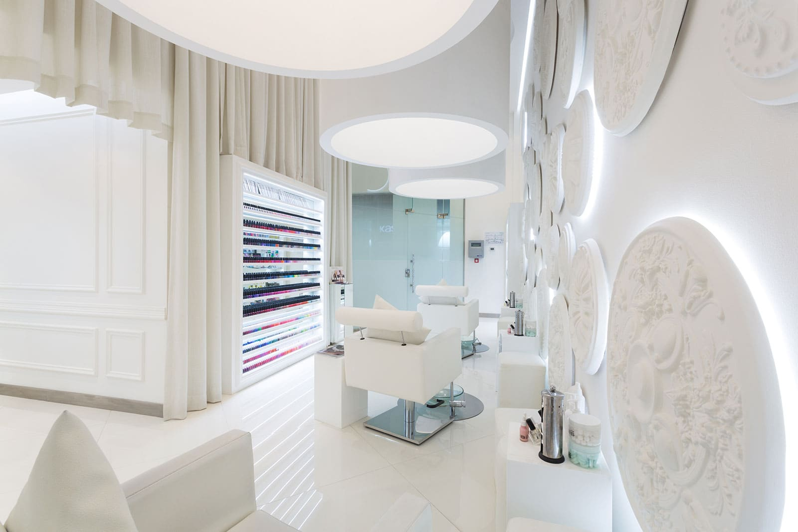 fit-out for BD nails spa